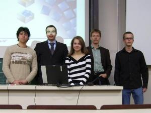 Vorstellung von Zeiss SMT durch die Gäste des Physiker im Beruf-Teams (2007)
